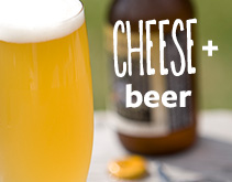 cheese + beer
