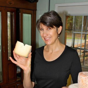 Gianaclis Caldwell, cheese expert and cheesemaker