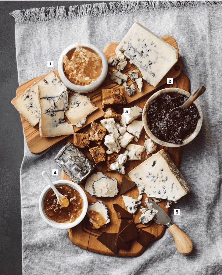 Cheese Plate: Cool Blue